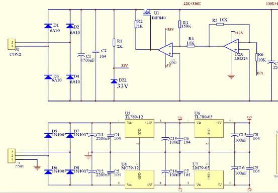 直流稳压电源电路的设计-力友电气
